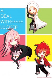 Chibi Characters Lucifer Cepheus from A Deal with Lucifer manga