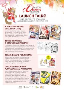 comics talk book launch