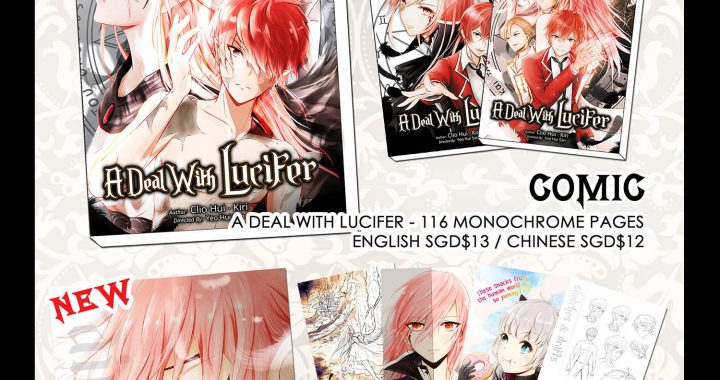 A Deal With Lucifer Comic & Merchandise